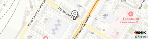 Koreana на карте Волгограда