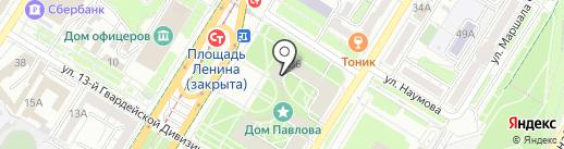 ЧАС СТИРКИ на карте Волгограда