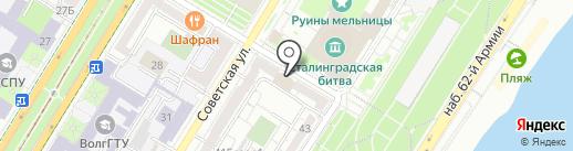 Импульс-Пласт на карте Волгограда