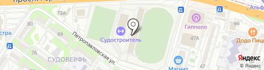 Максимус на карте Волгограда
