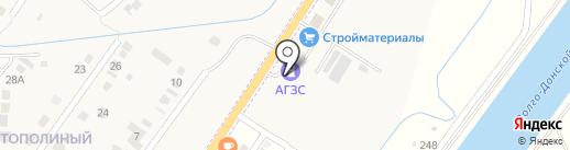 АЗС на карте Кировой