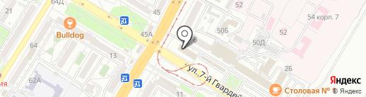 Истина на карте Волгограда