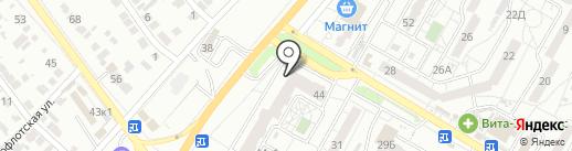 БРОНЯ на карте Волгограда