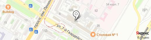 Продакт мед на карте Волгограда