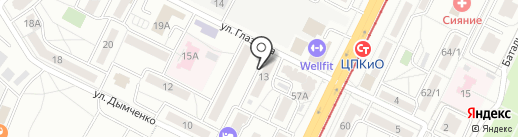 Index на карте Волгограда
