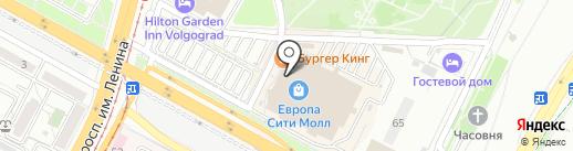 Eurocafe на карте Волгограда