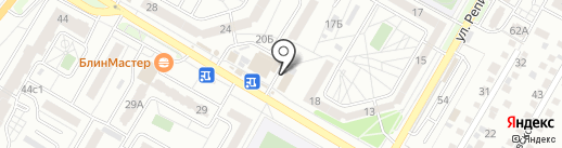 Автовыкуп в Волгограде на карте Волгограда