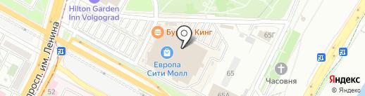 Льняной Сундучок на карте Волгограда