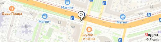 Сарептская мельница на карте Волгограда