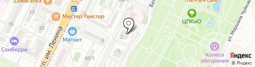 Компания Техносфера на карте Волгограда