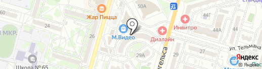 Лидер на карте Волгограда