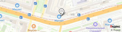 Б/Утик на карте Волгограда