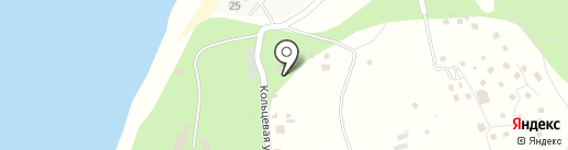 Дача Поддубного на карте Краснослободска
