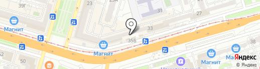 Фифа на карте Волгограда
