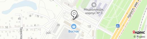 Мега-Принт на карте Волгограда