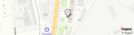 Транкинг на карте Волгограда