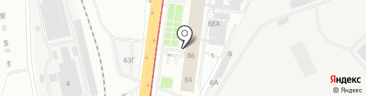 РОСА-1 на карте Волгограда
