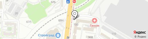 Дирекция водохозяйственного строительства Волгоградской области на карте Волгограда