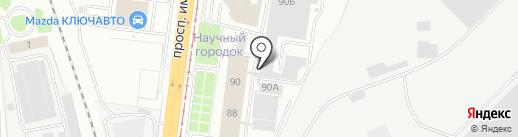 Химнефтеаппаратура на карте Волгограда