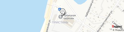 Храм Живоначальной Троицы на карте Краснослободска