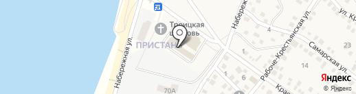 Санги Стиль на карте Краснослободска