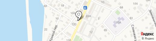 Милана на карте Краснослободска