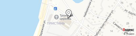 Волгоградское областное архитектурно-планировочное бюро на карте Краснослободска