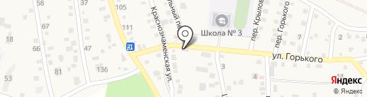 Почтовое отделение №162 на карте Краснослободска