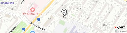 Ателье по пошиву штор на карте Волгограда