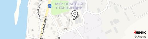 Краснослободское отделение полиции на карте Краснослободска