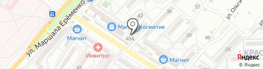 Чайная лавка на карте Волгограда