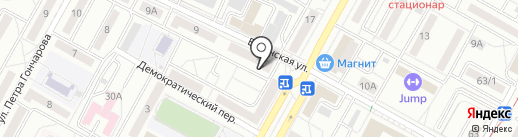 33 робота на карте Волгограда
