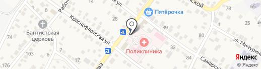 Камелия на карте Краснослободска