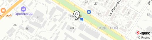 Агротема на карте Волгограда