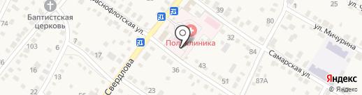 Краснослободская городская поликлиника на карте Краснослободска