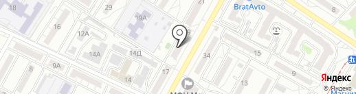 Энерго-Инвест на карте Волгограда