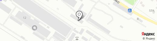 Котельная №3 на карте Волгограда
