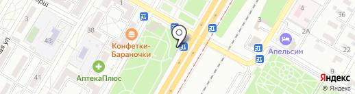 Викинг на карте Волгограда