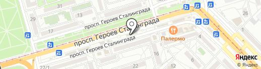 Страховая компания на карте Волгограда