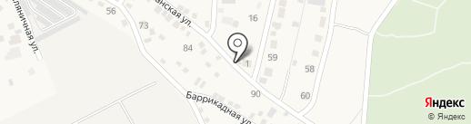 Волна на карте Краснослободска