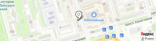 Пивоман на карте Волгограда