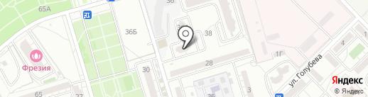 Агентство недвижимости на карте Волгограда