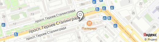 Пив & ко на карте Волгограда