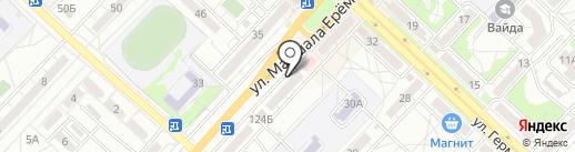 Кон, ПО на карте Волгограда