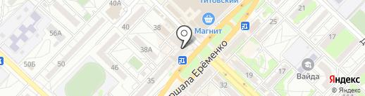 Вита-экспресс на карте Волгограда