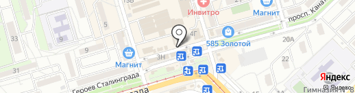 Магазин сухофруктов на карте Волгограда