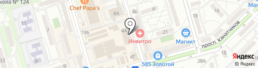 Магазин сумок и парфюмерии на карте Волгограда