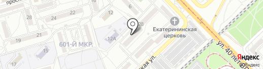 Нефтепереработчик на карте Волгограда