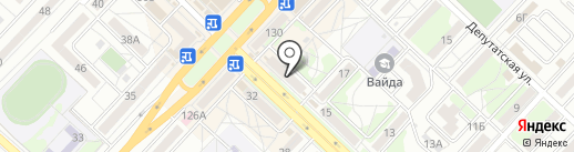 Кристалл-Лефортово на карте Волгограда