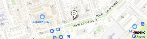 Море мебели на карте Волгограда